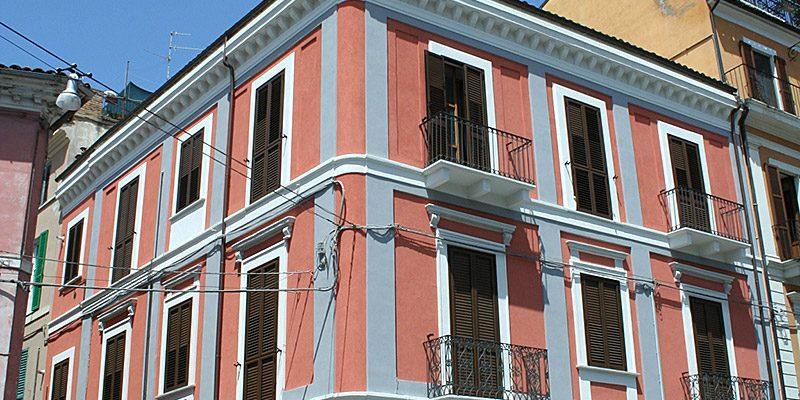 Restauro Palazzo Bonotto Piazza Matteotti (CH) 01