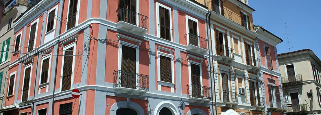 Restauro Palazzo Bonotto Piazza Matteotti (CH) 02
